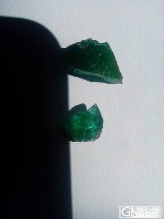 分享一些祖母绿原石,望各位不要见笑啊_祖母绿
