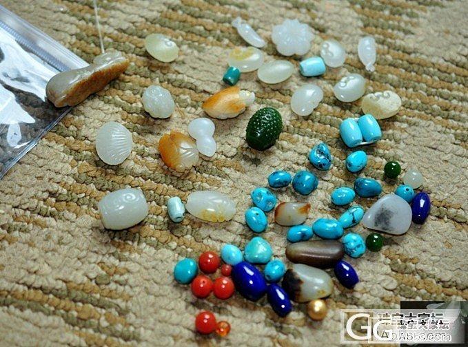 一堆小零碎。。。都是DIY的好材料,或者给小宝宝的好材料~_传统玉石