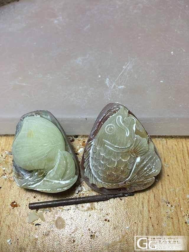 沙如雪原石团  雕刻还图  ↖(^ω^)↗_珠宝