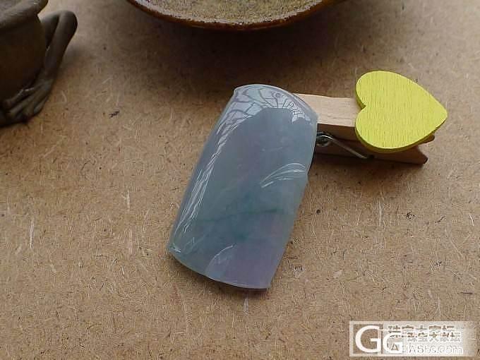 【品尚】啊北6.22新货:绚紫竹节吊坠,随时抢拍_品尚翡翠