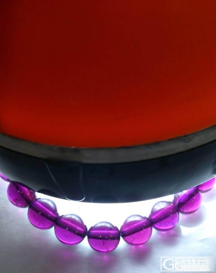 新年新入手的石榴 酒红和紫牙 来晒晒_石榴石