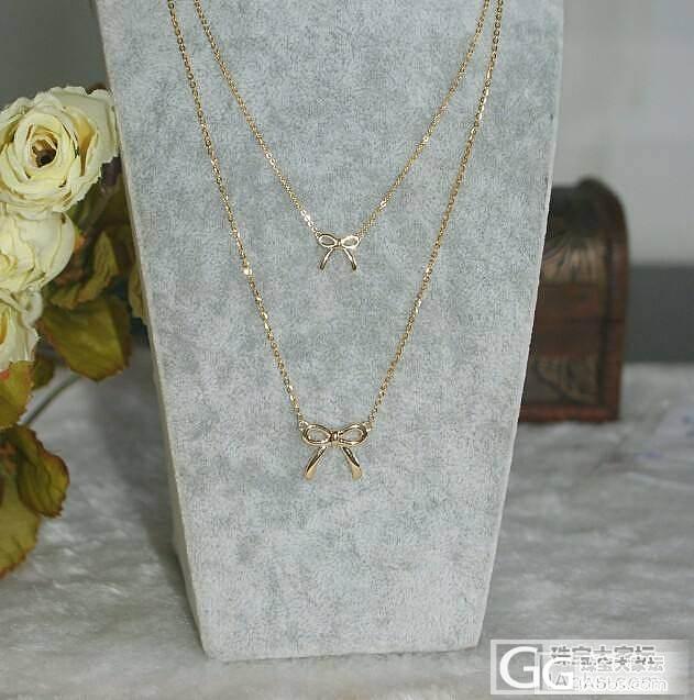 【瑞意邦珠宝】——蝴蝶结一体项链母女装开团_瑞意邦珠宝