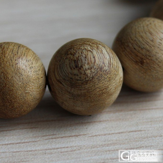 【花蜜香 超值】天然加里曼丹沉香手串 16mm 14颗 一款一照_文玩