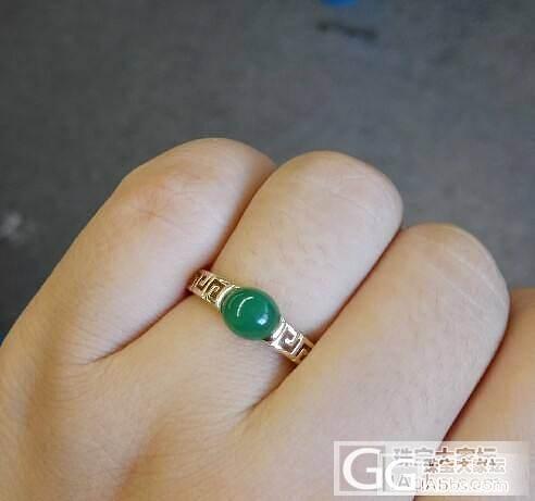 翡翠小精品绿戒(多图)-都说转闲置不能着急,不能偷懒,我使劲拍呀拍..._珠宝