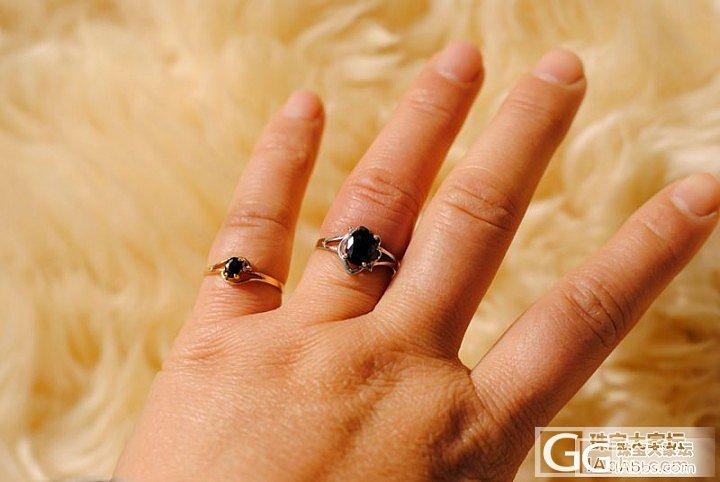 晒晒十几年前买的蓝宝石戒指_蓝宝石