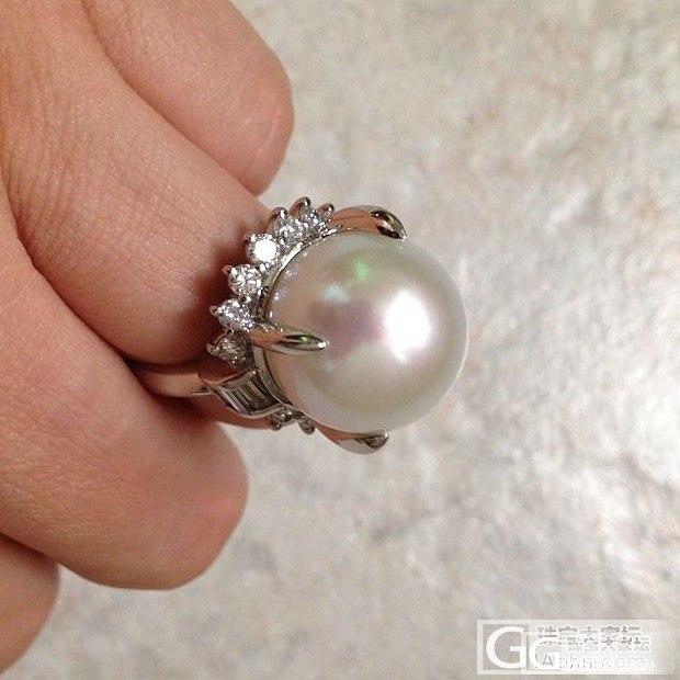 批发!便宜啦!大溪地海水珍珠,白珠、黑珠、金珠,大珠小珠都有!_有机宝石