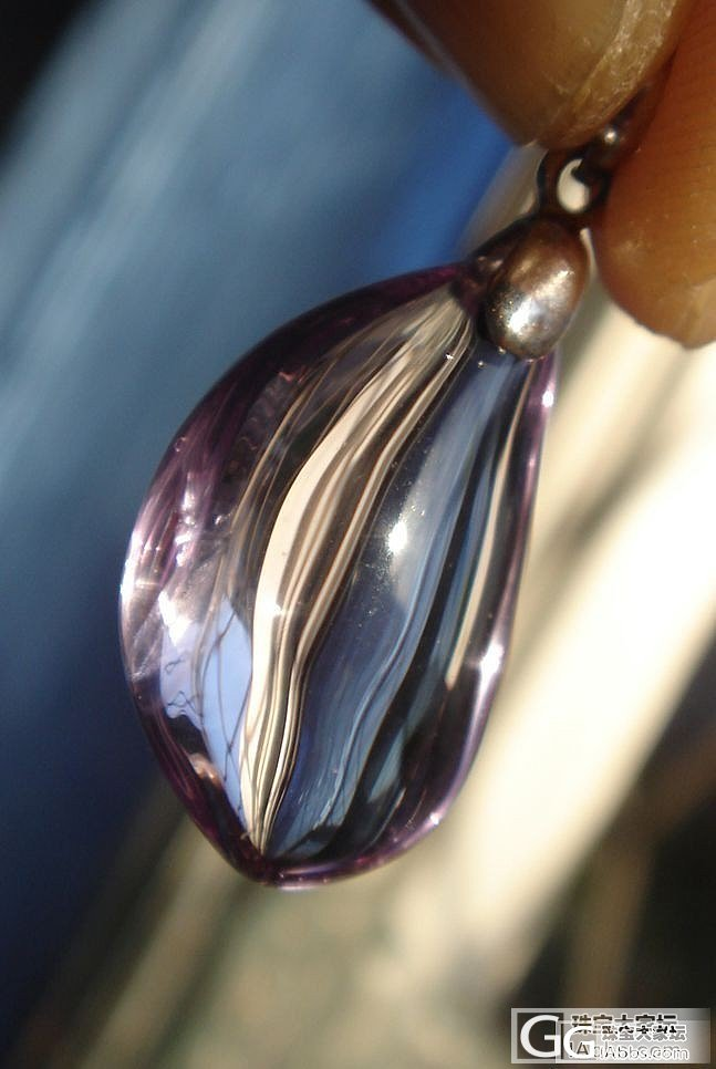 紫水晶坠儿值多少大洋啊?_水晶