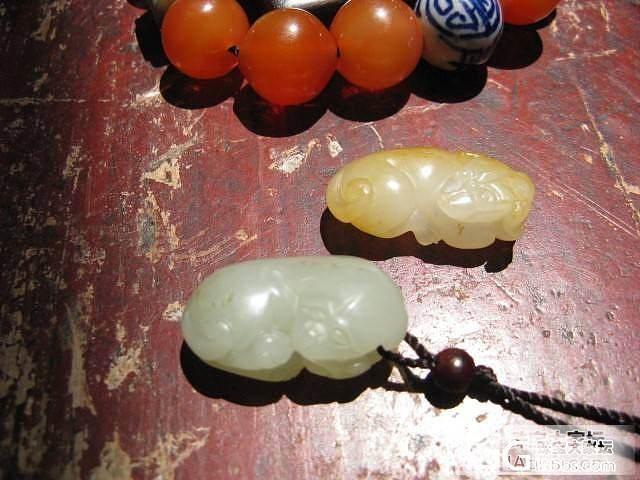 ----低价甩青白籽料小旺旺-工艺好500元_传统玉石