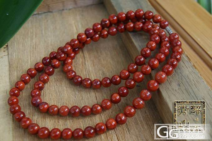 【明价南红】3种规格的南红108佛珠链_玛瑙