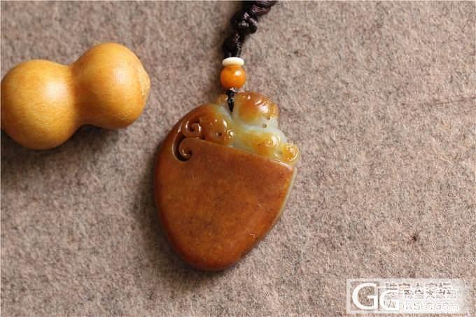 和田玉籽料独籽黄沁府上有龙&和田玉籽料蝉_传统玉石