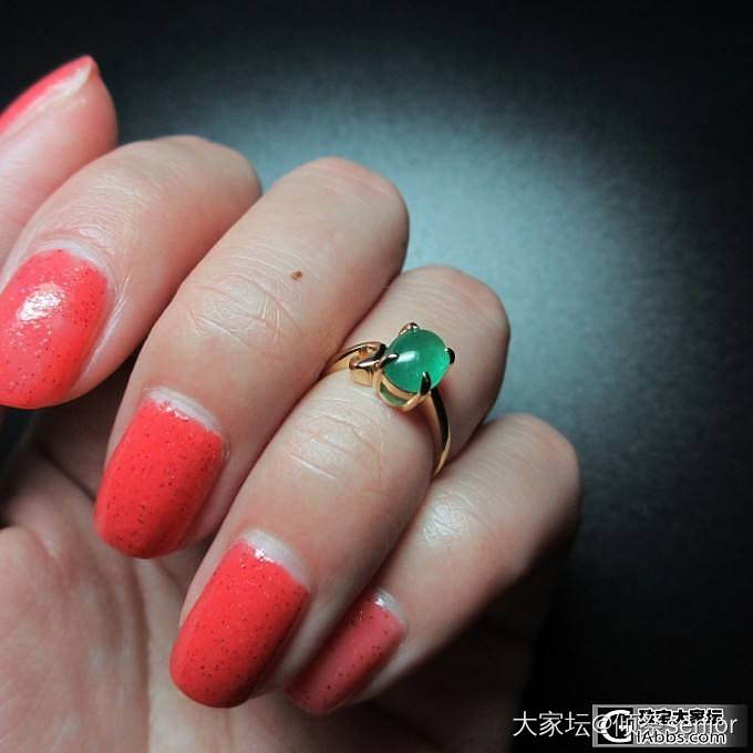 再一次感激酱油师傅做了这么好看的东西_祖母绿戒指刻面宝石