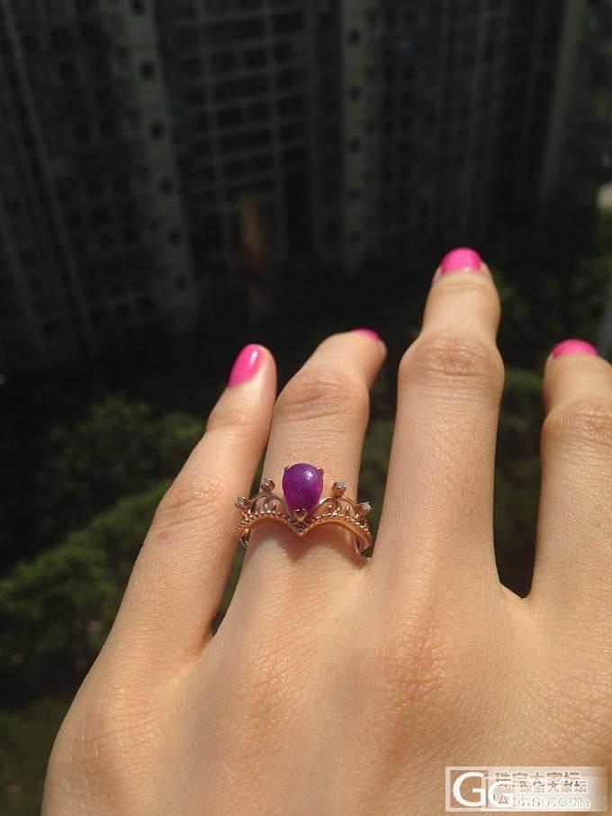 转让舒俱来小兔子玫瑰金吊坠戒指和皇冠戒指_宝石