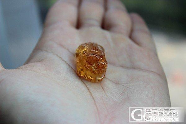 收藏级巴西黄水晶貔貅深橘黄300元有交易记录_宝石