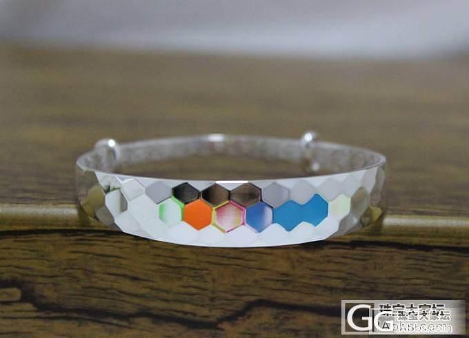 小丽银饰工厂店今日推荐--水立方密码--你给我色彩,我给你世界,_银