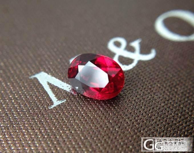 特价1.2W 整颗1.02克拉 无暇 椭圆 鸽血红 先到先得_红宝石刻面宝石