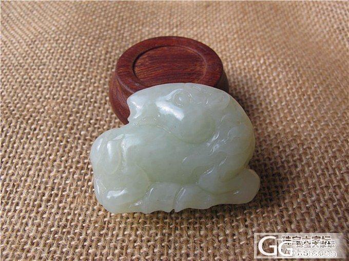 【碧水有玉】和田玉 俄料 米白色 马 1450元_传统玉石