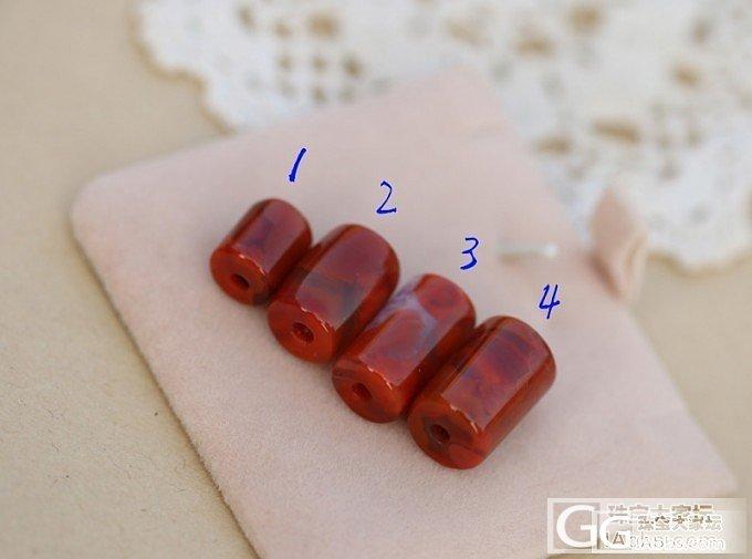 入的一些南红的小雕件,各位看看_南红