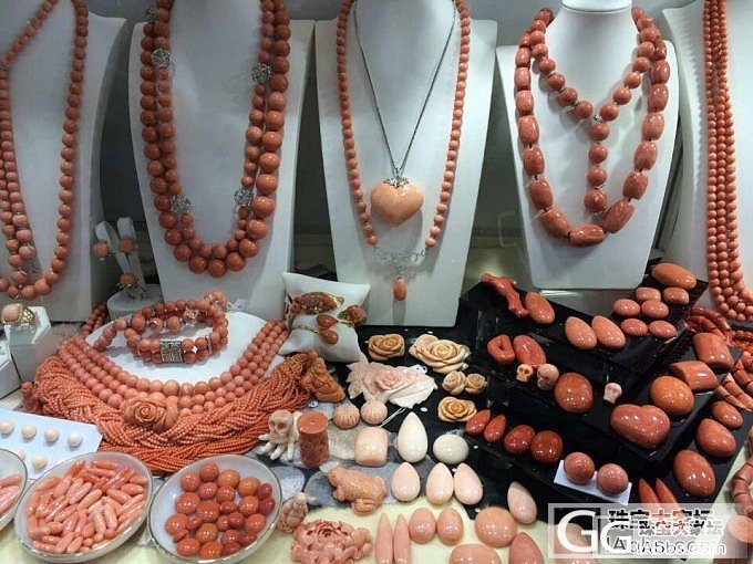 刚从香港回来,给大家看看展会的宝贝,啦啦啦_珍珠展会有机宝石