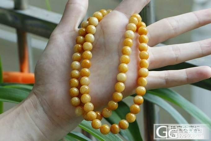 翠领8.3mm黄翡玉项链 缅甸天然翡翠A货 珍藏款_翡翠