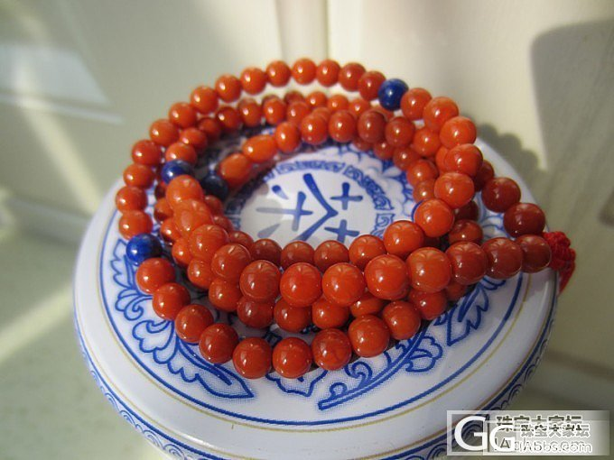 十分优惠转几条南红柿子红108颗手链。。(还有3条,要的抓紧)_传统玉石
