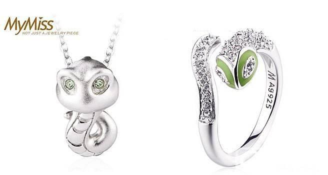 Mymiss银饰十二生肖项链、戒指,生肖银饰伴你一生_珠宝