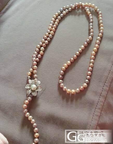 好看的珍珠毛衣链款式_珍珠
