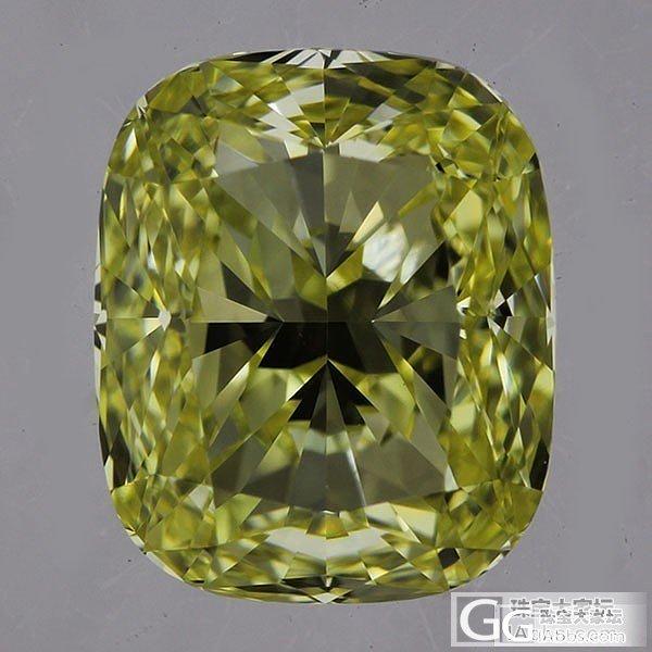 【先恩尼】1.07克拉 GIA证书 FIY黄钻一枚 美到没朋友_钻石