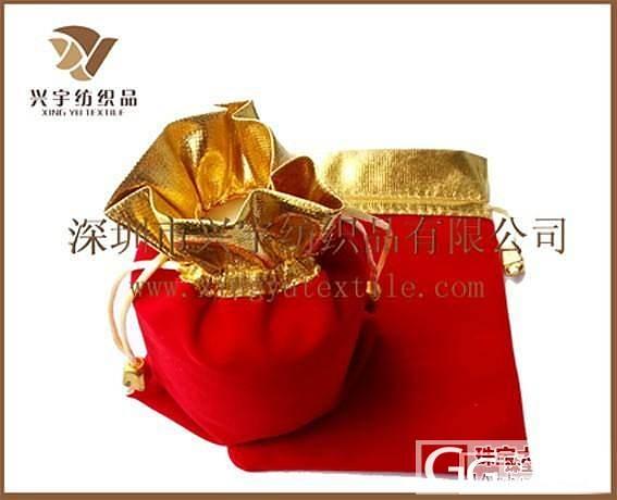 金边绒布袋,珠宝袋子,首饰袋子,金银砖专用袋子,礼品袋子_珠宝