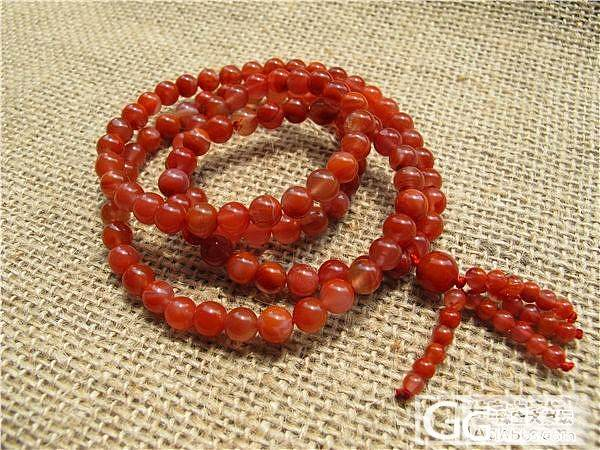 【文雅清阁】南红 联合料 樱桃红280元_传统玉石