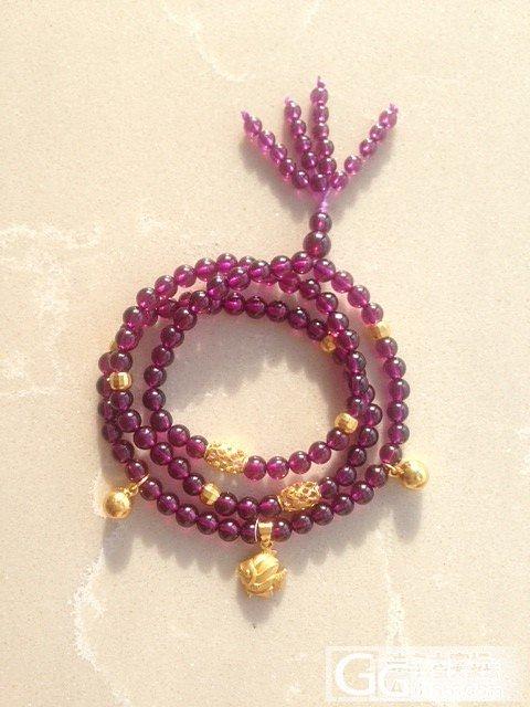 【决定自珍不出了】5mm的玻璃体极紫紫牙乌石榴石108 求新主人_宝石