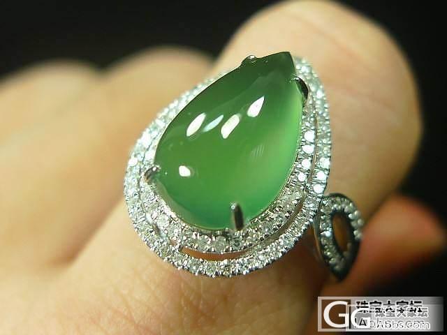 发个心形翡翠戒指,请大家给评判一下。_翡翠