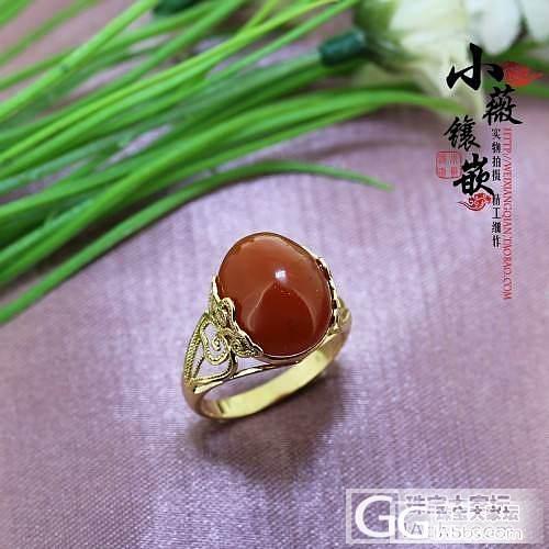 小薇镶嵌 出货欣赏 两款个性戒指_镶嵌珠宝