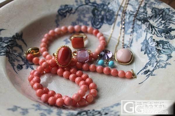 珊瑚成品-戒指吊坠项链等_有机宝石