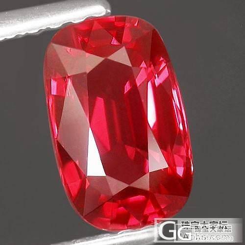 (已经定出)出顶级红宝色无瑕马亨盖尖晶石