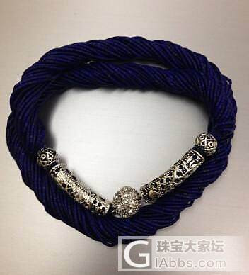 大家看过来阿富汗手工精细青金石链子1.24mm 1.85mm 大小的手串项链_宝石