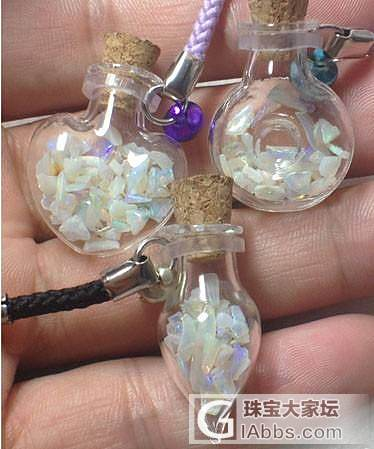 新品许愿瓶,大家看看创意不_珠宝