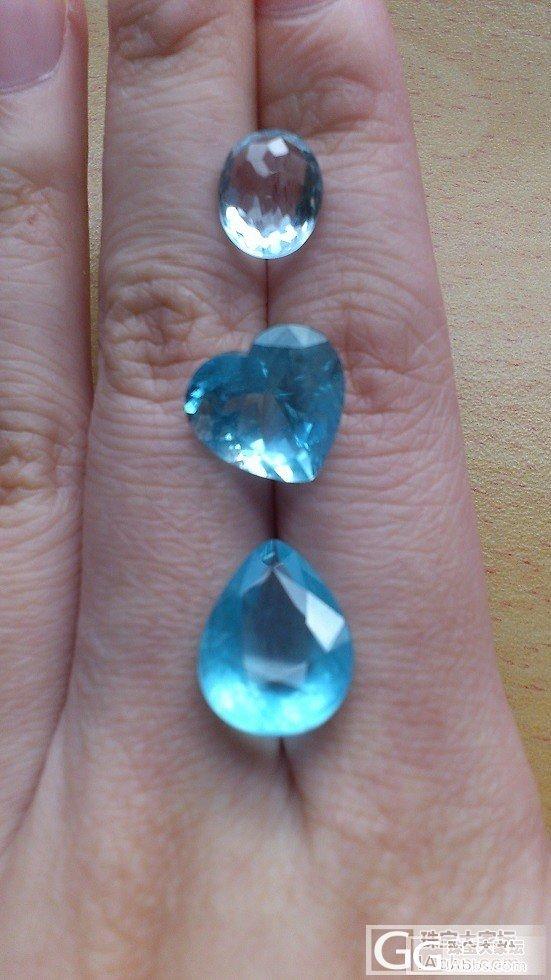 比蓝托帕更美丽的海蓝宝石_海蓝宝刻面宝石