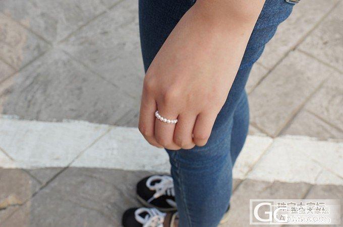 【牛牛珍珠】梁祝款小蝴蝶手链,配套小戒指,还有好多金珠。。5.19_有机宝石