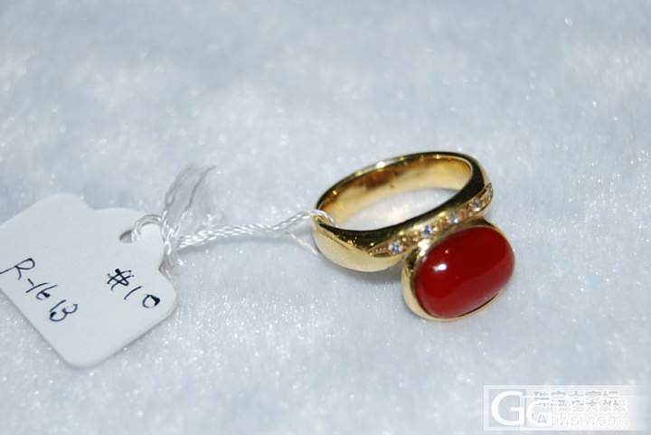 出几个从日本买回来得阿卡戒指_有机宝石
