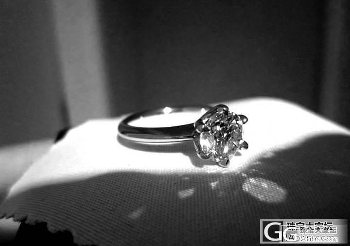 婚戒拿到啦_钻石