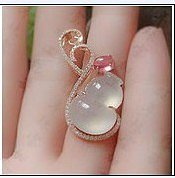 【心怡珠宝镶嵌】两款葫芦镶嵌款式_镶嵌珠宝