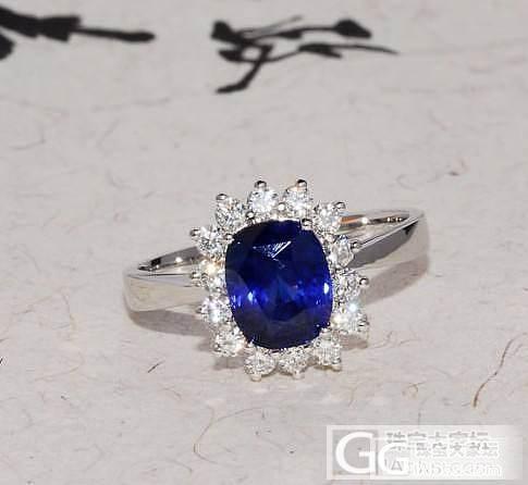 卡卡珠宝——上月秒杀的蓝宝套装出货了_镶嵌珠宝