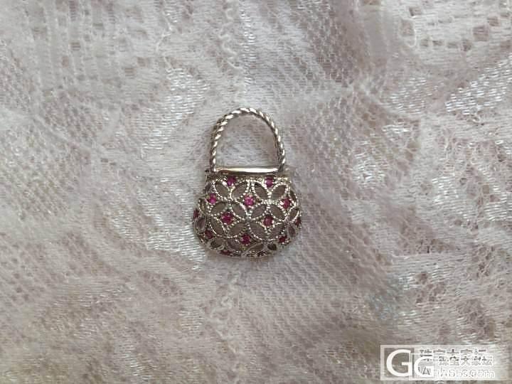 银镶山东红宝石的吊坠和银镶山东蓝宝石耳钉,50元一件,包圆通_银