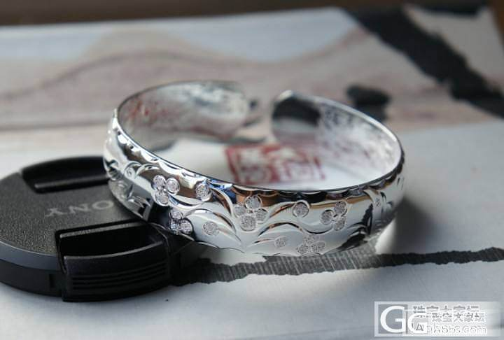 拿了一手银镯子已经出清了,晒晒以作纪念_珠宝