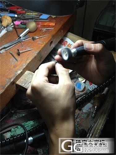 我的仿Tiffany 款的钻石锁骨链做好了_钻石