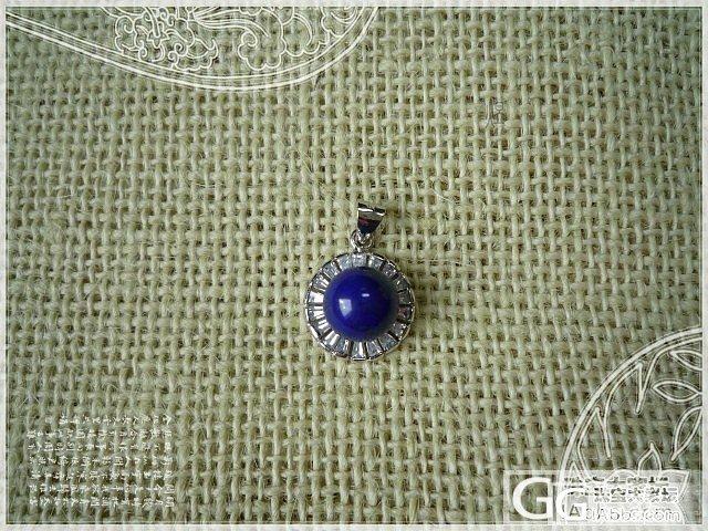 顶级天然青金石吊坠、耳环(三)_宝石