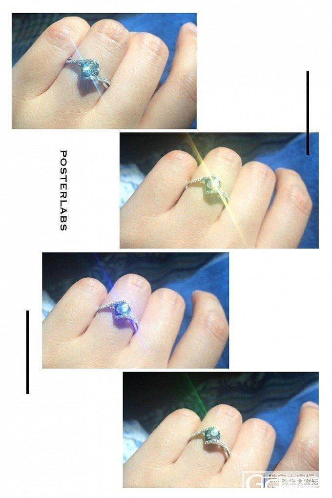 参加活动时突然被我家先生求婚,很意外也很幸福~再来晒晒婚戒~_钻石