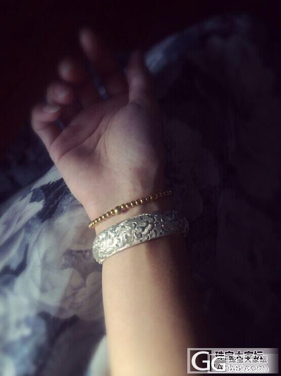 迷你艳冠群芳 [更新带了一个月后照片]_手镯银
