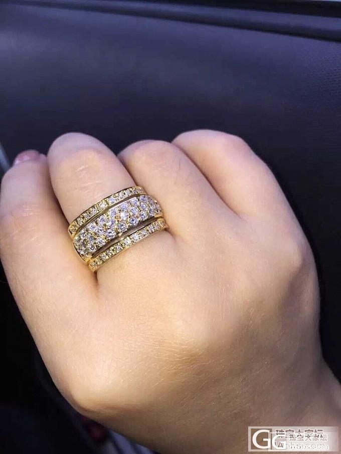 晒下我的戒指——不喜勿喷_刻面宝石宝石