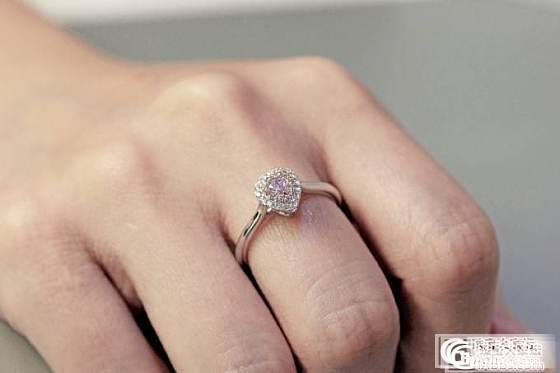 【圣韵宝宝】粉钻成品戒指(现货)_圣韵钻石